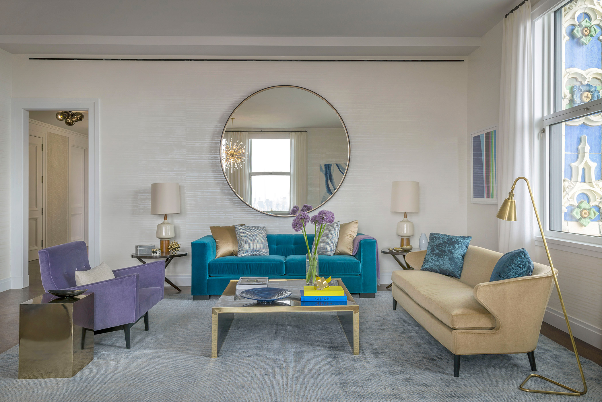 Woolworth Residences Model Apartment, New York