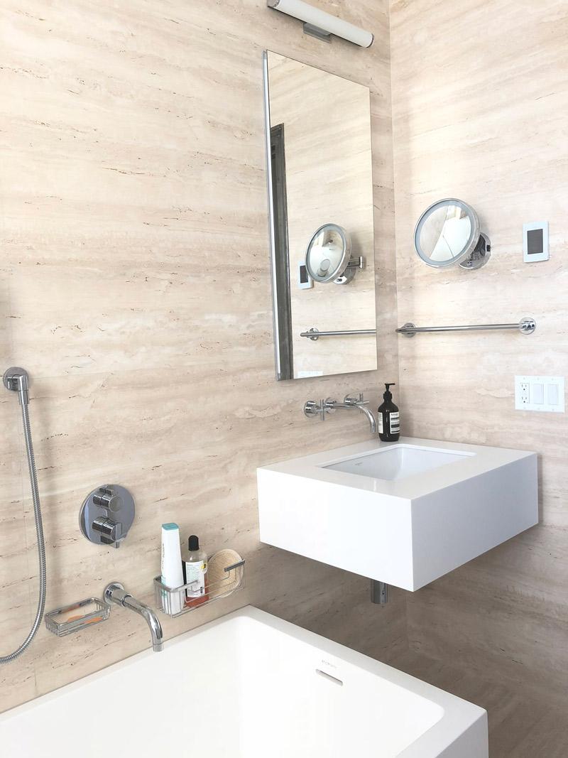 The Zen of a Small Bathroom